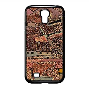 lintao diy Roofs Watercolor style Cover Samsung Galaxy S4 I9500 Case
