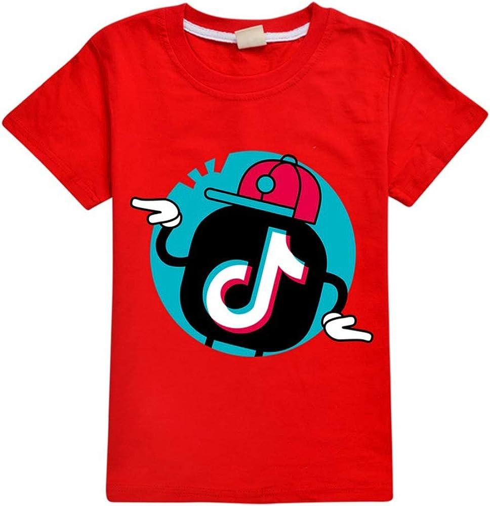 Dgfstm TIK Tok - Camiseta para niños Rojo Red2 5-6 Años: Amazon.es: Ropa y accesorios