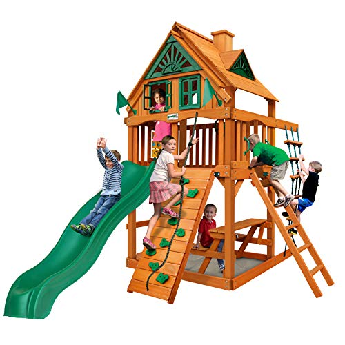 Gorilla Playsets Chateau Tower Treehouse w/Natural Cedar
