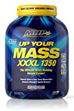 MHP UYM XXXL 1350 Mass Building Weight Gainer, Muscle Mass Gains, w/50g Protein, High Calories, 11g BCAAs, Leucine, Milk Chocolate, 8 Servings