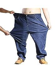 Heren Jeansbroek Extra groot Oversized Heren elastische stretch denim broek Heren Jean broek Denim broek Alle taille grote maten