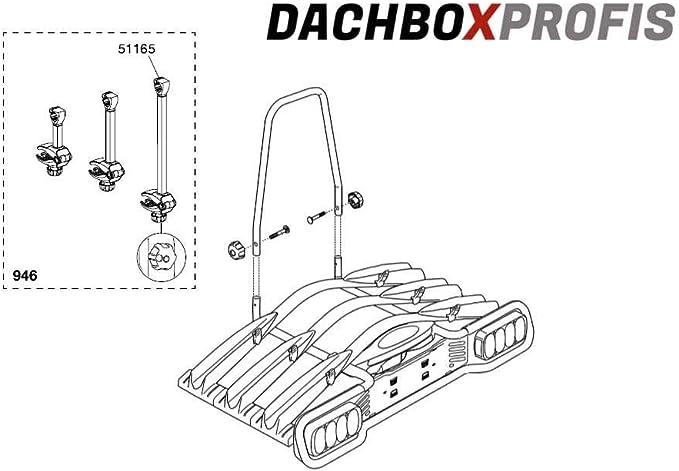 Thule 2331219900 Rahmen Haltearm Schwarz 30 X 5 X 5 Cm Sport Freizeit