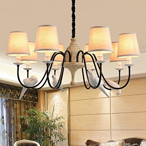 Nordischer Vogel Hangeleuchte Von Ikea Grade Eisen Wohnzimmer Lampe