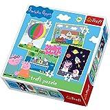 Trefl 4-in-1 Peppa Pig's Adventures Puzzle (207 Pieces)