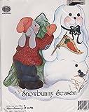 Ragamuffin Snowbunny Iron-on