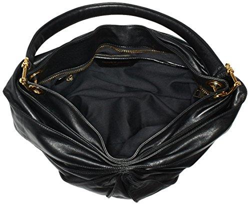 Kaviar Borsa T Donna x Classic Mix 15x34x32 cm Black x H a Gauche Nero mano Gold Motorcycle B Shopper rwIqr1g