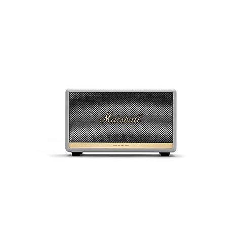 Marshall Acton II Altavoz Bluetooth - Blanco (UK): Amazon.es ...