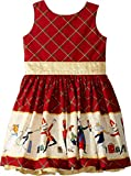 fiveloaves twofish Baby Girl's Nutcracker Party Dress (Toddler/Little Kids/Big Kids) Burgundy 4