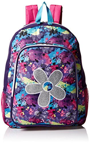 Trailmaker Girls Flower Applique Backpack