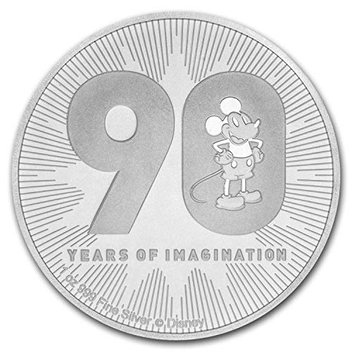 2018 NZ Niue 1 oz Silver $2 Disney Mickey