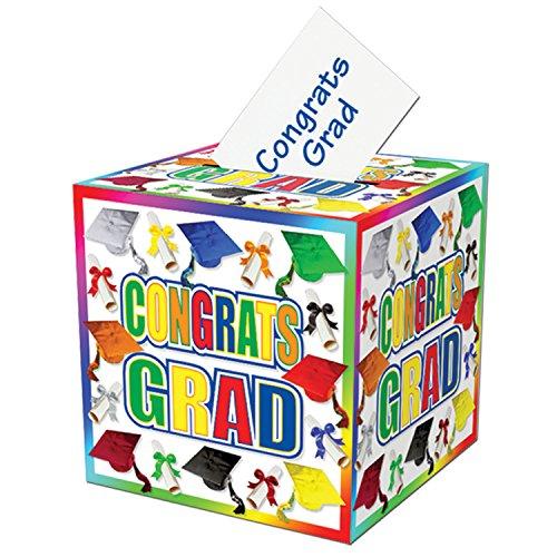 Graduation Card Box Party Accessory (1 count) (1/Pkg) ()