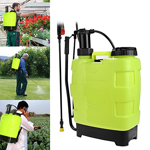 5 Gallon Backpack Sprayer 20L Portable Pressure Sprayer Knapsack for Garden Lawn Yard Farm (5 Gallon)