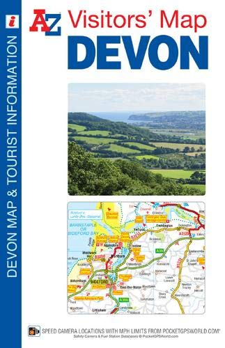 - Devon Visitors Map (A-Z Visitors Map)