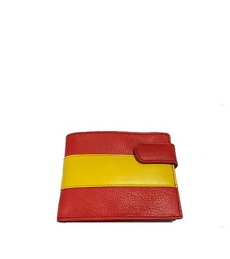 ZiNGS Cartera de hombre Bandera de España - Horizontal: Amazon.es: Ropa y accesorios