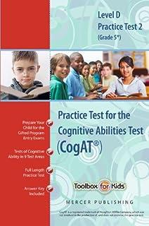 Cognitive abilities test cogat multilevel d book grade 5 cognitive abilities test cogat multilevel d book grade 5 practice test fandeluxe Gallery