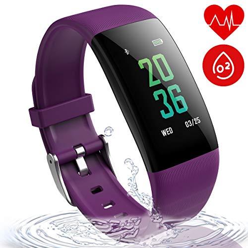 wonlex Waterproof Fitness Tracker Color Screen