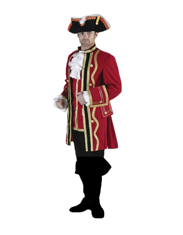 Men's Captain Blackheart Theater Costume Set - DeluxeAdultCostumes.com