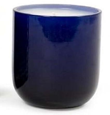 Amazon Jonathan Adler Navy Blue Glass Sea Salt Candle Home