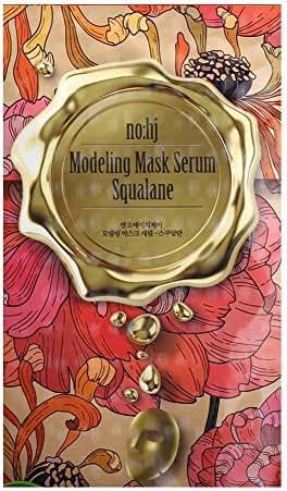 Facial Mask Sheets [NOHJ] Golden Modeling Mask Serum Soothing Squalan Moisture Mask Sheet Natural Ingredients Ample Essence Chamaecyparis Obtusa,10 Sheets Per Set