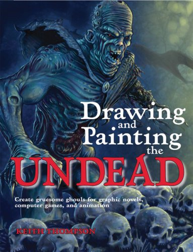 drawing and painting the undead - 1