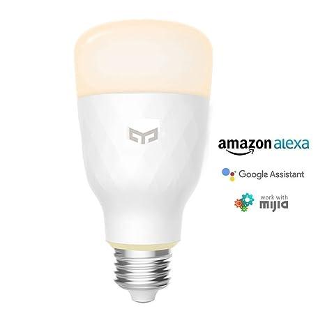 YEELIGHT Lemon Smart LED WiFi Bombilla 10W E27 800lm Sin bombillas de iluminación Hub trabaja con