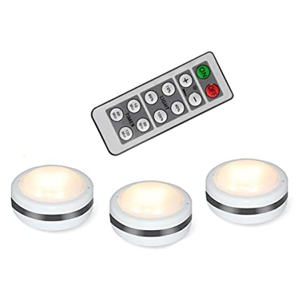 Touch Activated Led Puck Lights Wireless Led Puck Light With Remote