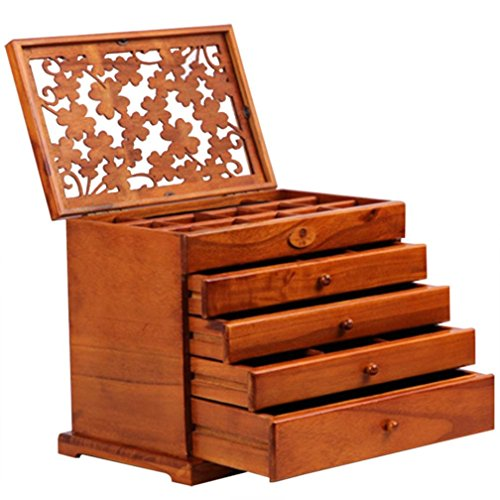 fenleo-paulownia-carved-multi-functional-retro-jewelry-box-four-leaf-clover-cosmetic-box