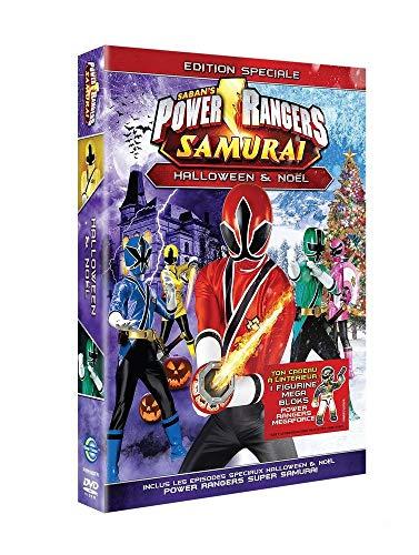 Power rangers samurai : special halloween & Noël + Micro figurine Power Rangers