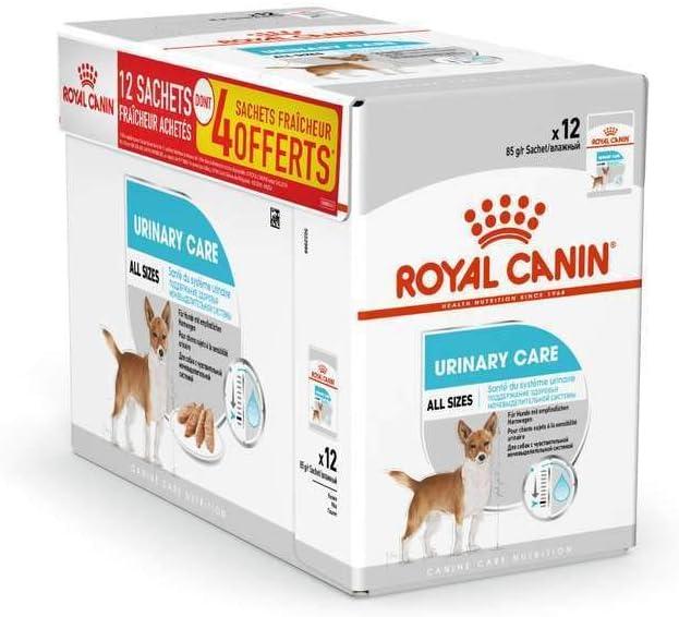 ROYAL CANIN Alimento húmedo Canine Urinary Care para Perros con Sensibilidad Urinaria, Caja Completa 12 Sobres x 85 gr