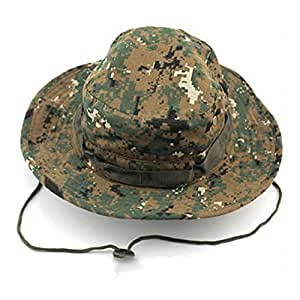 Tactical Head Wear / Boonie Hat Cap Camo Hats For Wargame,Sports,Fishing &Outdoor Activties (Multi Digital Camouflage)