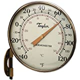Thermometer Dial 4-1/4in Brz