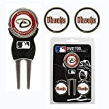Team Golf MLB Divot Tool with 3 Golf Ball Markers