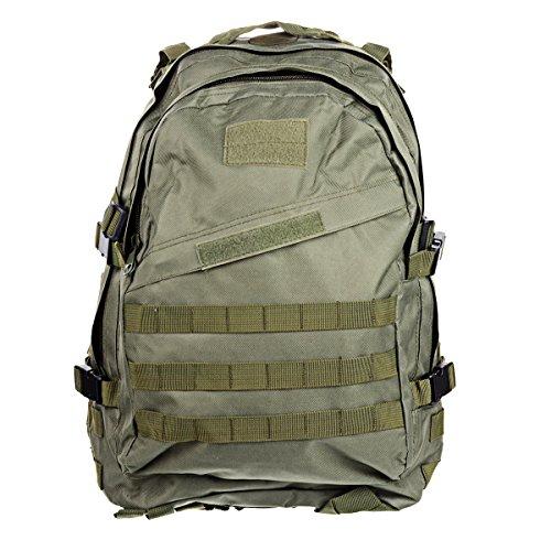 multifonctionnel imperméable Oxford bâches Sac à dos Sac à dos pour randonnée/camping–army green (40L)