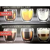BODUM ボダム PAVINA ダブルウォールグラス 250ml (6個セット) 4558-10-12J