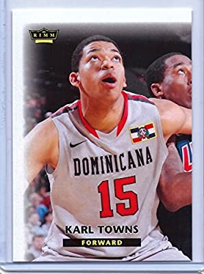 Karl Anthony Towns Minnesota Timberwolves Rookie RC Kentucky in a one touch magnetic case