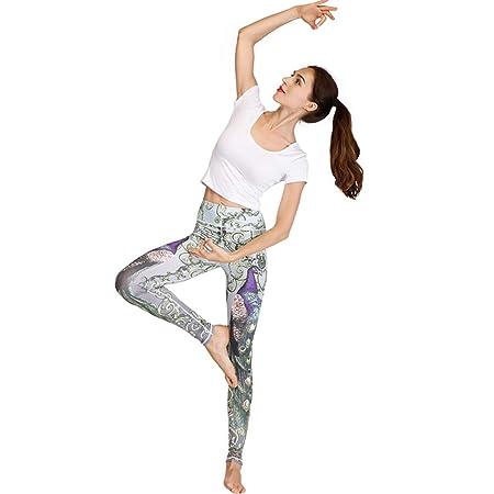 Traje Deportivo De Ropa De Yoga, Pantalones De Yoga Impresos ...