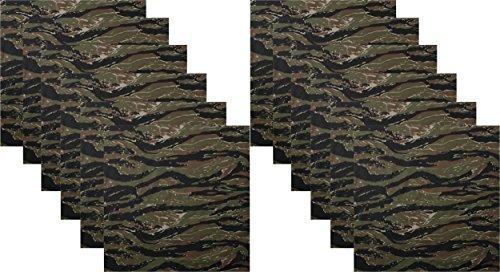(DOZEN - Camo Military Bandanas, Army Camouflage Headwraps 22
