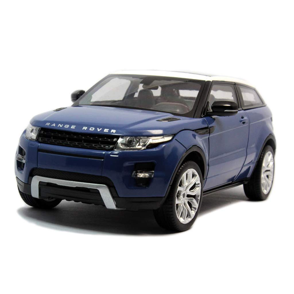 bluee DUWEN Model Car Die Casting Model Land Rover Aurora SUV Model 1 24 Emulation Alloy Car Model Boy Gift (color   RED)