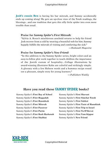 Sammy spiders first bar mitzvah sylvia a rouss 9781467794121 sammy spiders first bar mitzvah sylvia a rouss 9781467794121 amazon books fandeluxe Document