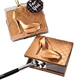 18 Gold High Heel Shoe Design Compact Mirrors