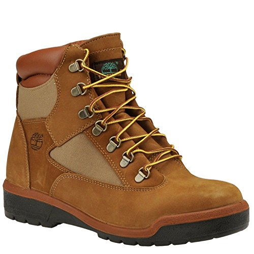 Timberland Mens 6 in Field Boot, Lt Brown, 41.5 D(M) EU/7.5 D(M) UK