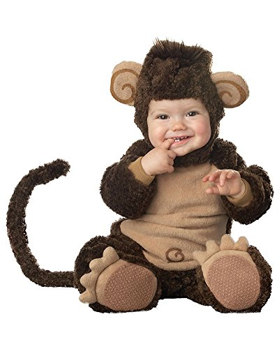Gamery Animal Costumes for Infant Toddlers Baby Boys Girls Kids Cosplay Monkey 10-12 Months