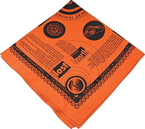 (WG02414-BRK Survival Bandana Orange)