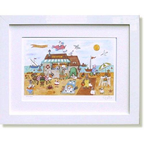 クリーブ海の家(絵画版画) B008DQJ9M8