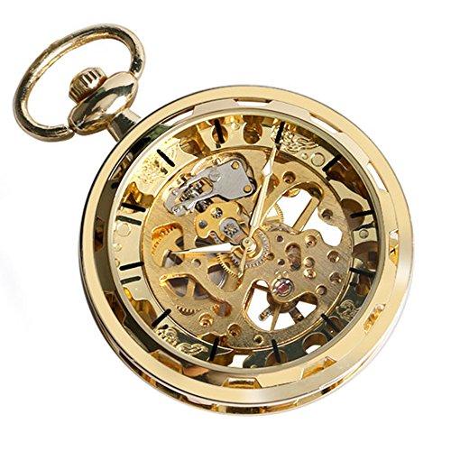 Gold Face Pocket Watch - 6