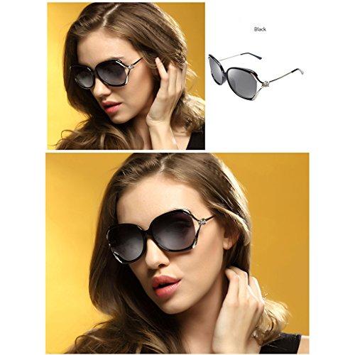 Rhinestones Tangmengyun Gafas Driving White color Off Black Big Sunglasses Polarizadas Fashion Frame De Sol rrxnqwU8