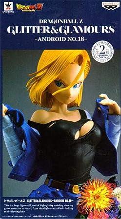 Dragon Ball Z GLITTER /& GLAMOURS ANDROID NO.18 figure 25cm BANPRESTO JAPAN