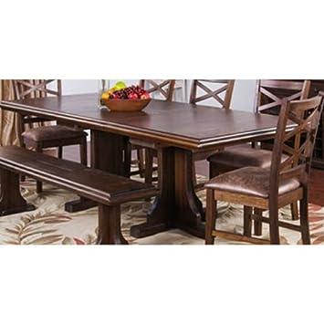 Sunny Designs 1199AC Savannah Extension Dining Table
