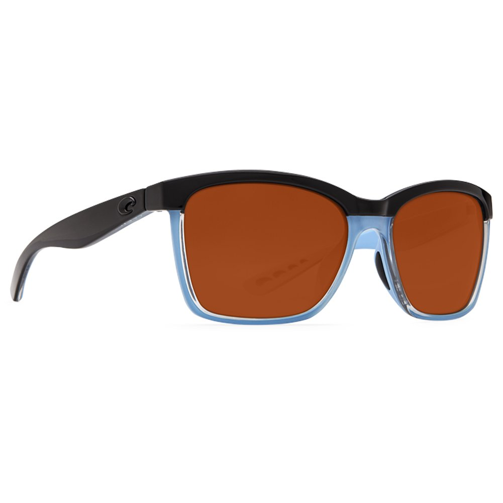 b2af632c4e New Costa Del Mar Anaa 97 Shiny Black Crystal Light Blue Sunglasses for  Womens  Amazon.co.uk  Clothing