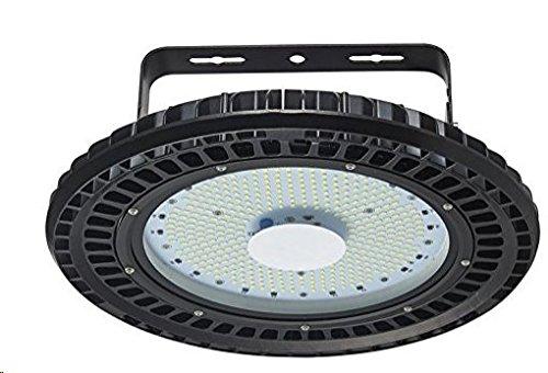 100 Watt LED High Bay UFO Lights, chunnuan 12000 Lumen,6500K,IP54 Waterproof Dust Proof, Warehouse LED Lights- LED High Bay Lighting - High Bay LED Lights (100W)